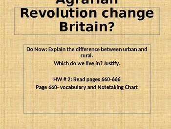 Agrarian Revolution