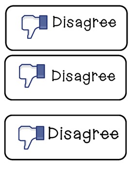 Agree, Disagree, and Not Sure Cards for Classroom Management
