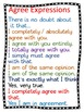 Agree and Disagree Critical Thinking Unit