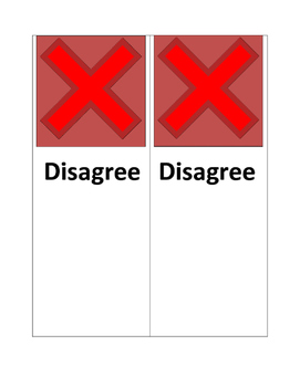 Agree or Disagree Discussion Cards