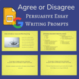 Agree or Disagree: Persuasive Essay Writing Prompts for Di