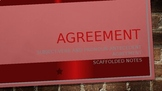 Agreement Scaffolded Notes and Guide