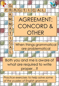 Agreement (concord) in English grammar - a worksheet for practice