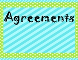 Agreements Sign
