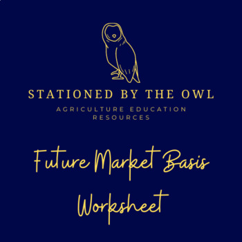 Agribusiness- Futures Market Basis Worksheet