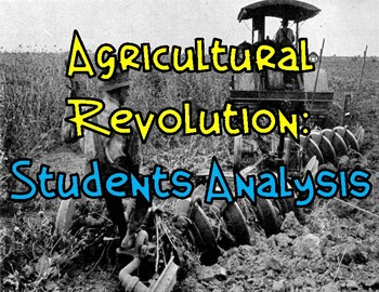 Agricultural Revolution: Student Analysis