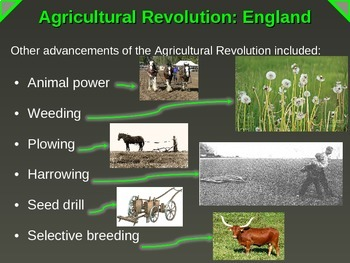 Agricultural Revolution in England (PART 1 of Industrial Revolution PPT)