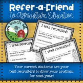 Agriculture Education Refer-A-Friend