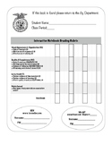 Agriculture Interactive Notebook Grading Rubric