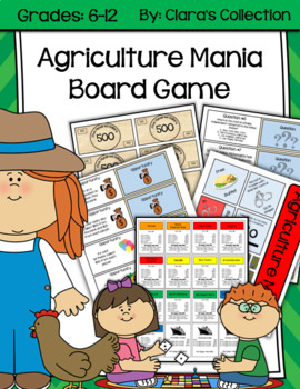 Agriculture Mania Board Game