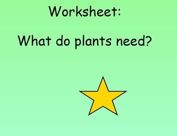 Agriculture - Plants