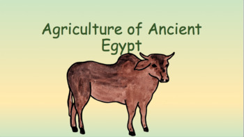 Agriculture in Ancient Egypt Pack