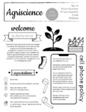 Agriscience Syllabus - Completely Editable!
