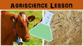 Agriscience Lesson with Power Point, Worksheet, and Essay Page