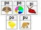 Agrupando silabas Sorting syllables