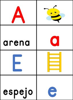 Agrupar Letras Sus Sonidos y Palabras-Letter Sound and Word Sort