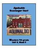 Aguinaldo Scavenger Hunt (4th grade Wonders; Unit 3 Week 2)