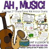 Ah, Music! Focus Wall Anchor Charts and Word Wall Cards