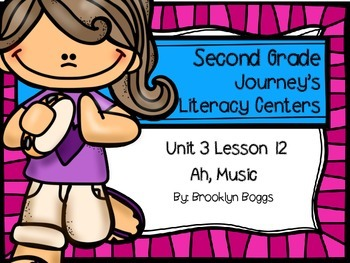 Ah, Music Journey's Literacy Centers - Second Grade Lesson 12