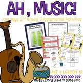 Ah, Music! Journeys 2nd Grade Supplemental Activities