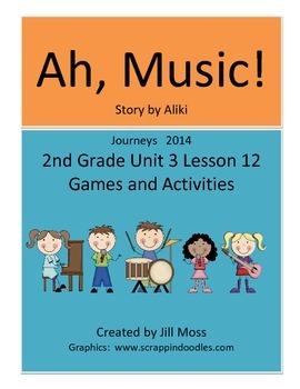 Journeys 2014 Second Grade Unit 3 Lesson 12 Supplemental A