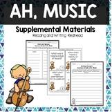 Ah, Music -  Journeys Second Grade Week 12