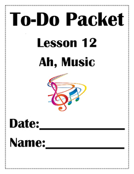Ah, Music Lesson 12 Journeys