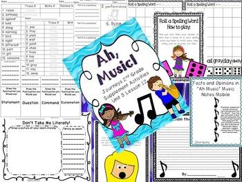 Ah, Music! Supplement Activities 2014 2nd Grade Lesson 12