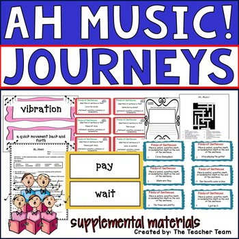 Ah Music! Journeys Second Grade Unit 3 Lesson 12 Activities & Printables