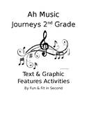 Ah Music Text and Graphic Features Activity