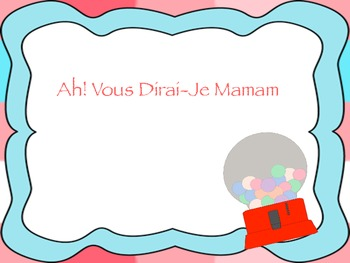 """Ah! Vous Dirai-Je Mamam: A song to learn """"fa"""""""