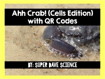 Ahh Crab! QR Code Review Card Game Cells Edition