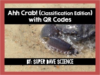 Ahh Crab! QR Code Review Card Game Classification Edition