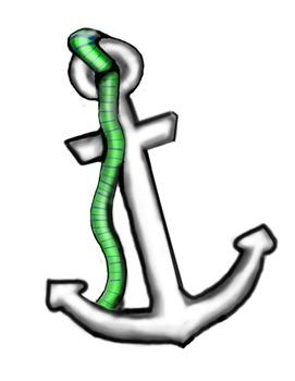 Ahoy! Anchor 3D Clip Art