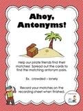 Ahoy, Antonyms!