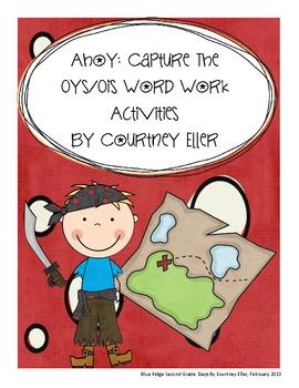 Ahoy: Capture The Oys/Ois Word Work Activities