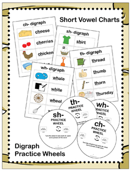 Ahoy! Digraphs! {Ch-, Sh-, Th-, Wh-} Word Work Bundle! (Common Core Aligned)