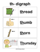 Ahoy! Digraphs! {Th-} Word Work (Common Core Aligned)