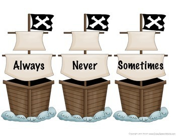 Pirate Language Activities!