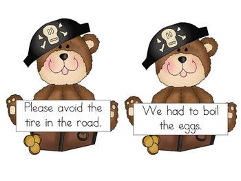 Ahoy Mates Sentence Reading Kit