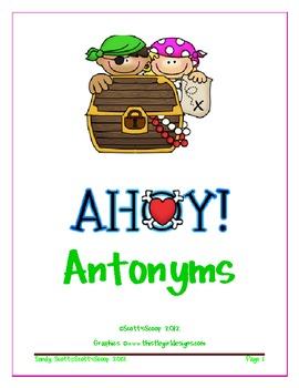 Ahoy, Matey ! Antonyms