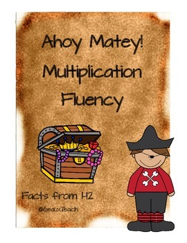 Ahoy Matey! Multiplication Fact Fluency