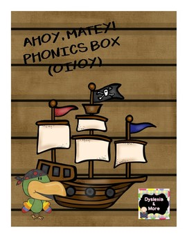 Ahoy, Matey Phonics Box for oy/oi