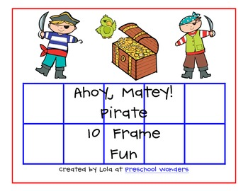 Ahoy, Matey! Pirate 10 Frame Fun