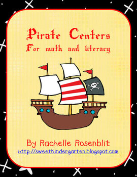 Ahoy Matey! Pirate Centers for Math and Literacy