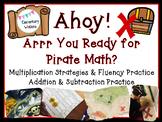 Ahoy, Matey! Pirate Math Stations