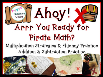 Ahoy, Matey! Pirate Math Stations