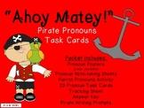 """Ahoy Matey!"" Pirate Pronouns Activity Packet (CC Aligned)"