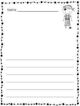 Ahoy, Matey!  Pirate-Themed ELA & Math for the Primary Classroom