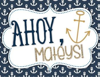 Door Decor: Nautical, Ahoy!